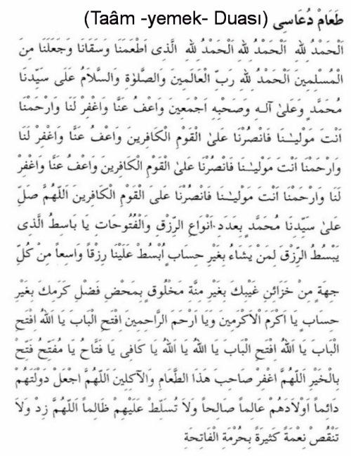 Taam Duası_arapça